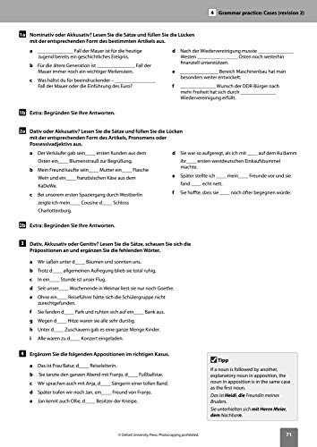 A Level German: A Level and AS: Grammar & Translation Workbook
