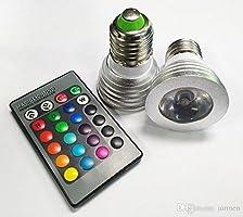 Buffer Kumandalı Led Ampül RGB