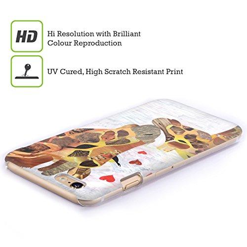 Ufficiale ArtPopTart Dolci Giraffe Animali Cover Retro Rigida per Apple iPhone 6 Plus / 6s Plus Dolci Giraffe