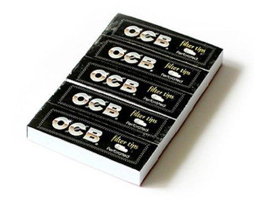 OCB Lot de 5paquets de filtres perforés