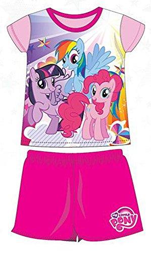 my-little-pony-pijamas-de-verano-2-piezas-de-camiseta-y-culote-producto-oficial-rosa