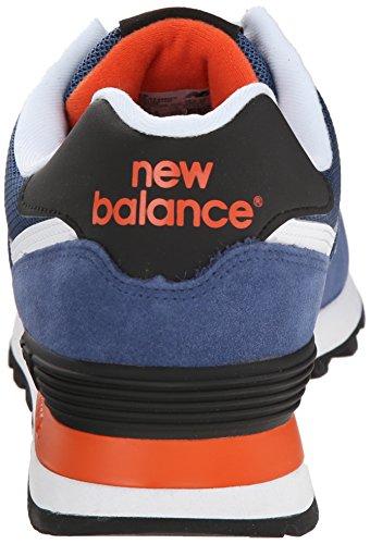 New Balance ML574 D, Baskets mode homme Bleu (Moy Blue/Black)
