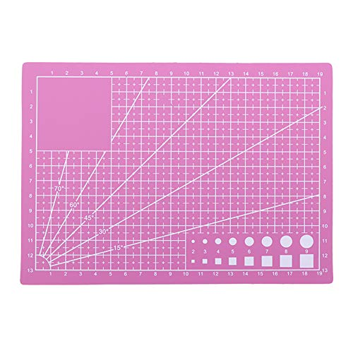 Broadroot A3 A5 PVC Schneidebrett DIY Kreisschneider Handwerk Patchwork Mat Pad Selbstheilende Leder Papier Schneidematte Werkzeug (A5) (Schneidebretter Gravieren)