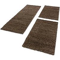 suchergebnis auf f r teppich l ufer hochflor braun k che haushalt wohnen. Black Bedroom Furniture Sets. Home Design Ideas