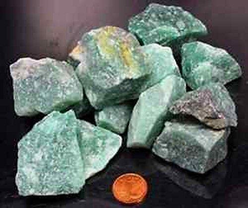 Aventurin Rohsteine 300 gr. Steinewasser Wassersteine Grundpreis 1 kg = 16,50 €