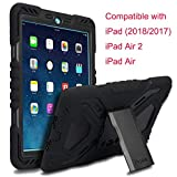 Meiya iPad 9.7 inch 2017 2018 Coque, New Robuste Rsistant aux Chocs salet Neige Sable...