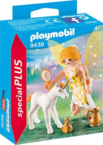 Playmobil- Hada del Sol con Unicornio Juguete
