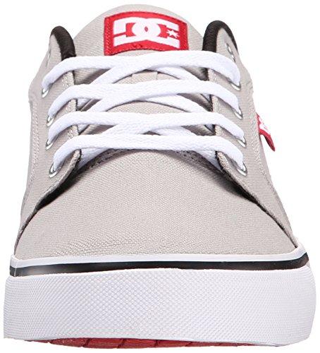 DC ANVIL TX D0320040, Sneaker uomo Grey/Red/White