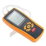 Rgbs portatile USB tester digitale LCD pressione manometro misuratore di pressione differenziale manometro 11unità gamma 10kPa dosatore ventola a pressione, velocità del vento, pressione forno, sistema idraulico, controllare il rapporto di gas e monitorare la pressione sanguigna e Breath pressione con altri dispositivi medici
