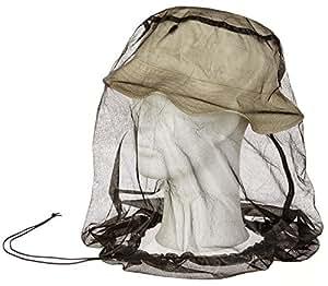 Moskito Kopfnetz Mückennetz in Schwarz