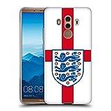 Head Case Designs Offizielle England Football Team Fahne 2018 Kamm Soft Gel Hülle für Huawei Mate 10 Pro