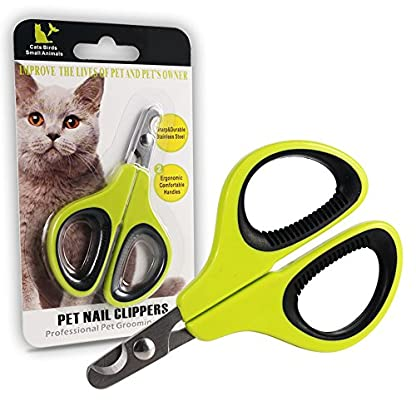 Professional Nail Clippers for Small Animals: Dog, Cat, Rabbit, Bird, Puppy, Kitten - Claw Clipper Trimmer Scissor for… 7