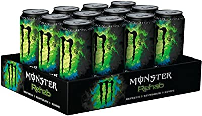 Monster Rehab Green Tea, 12er Pack (12 x 500 ml)