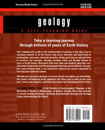Geology: A Self-Teaching Guide (Wiley Self-Teaching Guides)