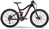 Haibike Q.XC 9.05 27.5 Zoll Mountainbike Schwarz/Rot/Grau Matt (2016), 50