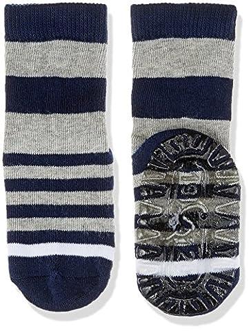 Sterntaler Baby-Jungen Socken Fli Air Ringel, Blau (Marine 300), 22