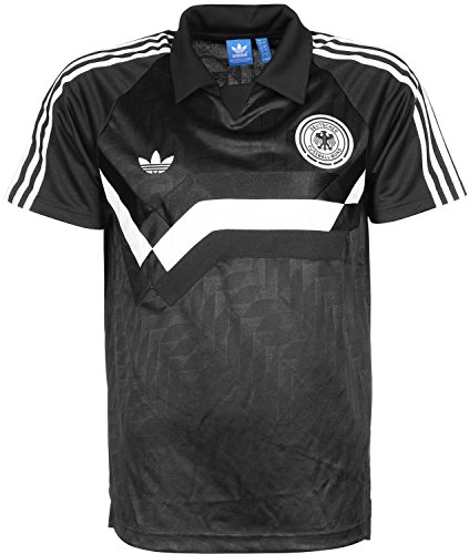 adidas Herren Germany Away T-Shirts, Schwarz / Weiß, M-50