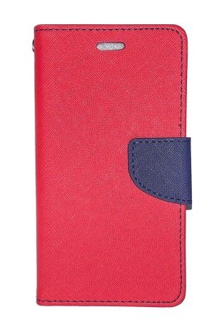Rapid Zone Mercury Goospery Faincy Diary Wallet Flip Cover For Sony Xperia C - Red&Blue  available at amazon for Rs.189