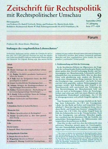 Zeitschrift für Rechtspolitik (ZRP)
