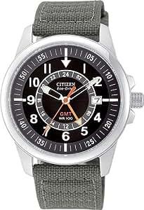 Citizen Men's Eco-Drive 180 WR100 World Timer Watch #BJ9130-05E