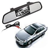 Espejo con Monitor 4.3' TFT LCD para Camara Retrovisor coche