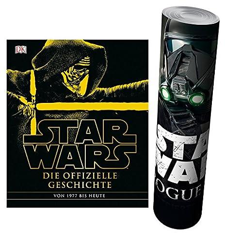 Star Wars™ Die offizielle Geschichte + Star Wars - Rogue One Poster
