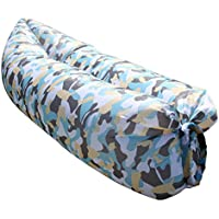 SHUAILV Air Inflatable Lounger Chair Beach Sofa Portable Waterproof Outdoor Indoor Couch for Camping, Park, Boating, Backyard Hangout