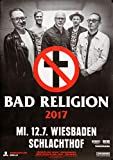 TheConcertPoster Bad Religion - True North Live, Wiesbaden