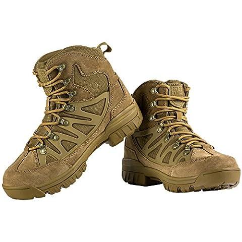 Gratis Soldier leicht atmungsaktiv Sicherheit Arbeit Stiefel Tactical Cadet Low Top Military Wandern Outdoor Camping Leder Schuhe 6 (Chelsea Girls Schuhe)