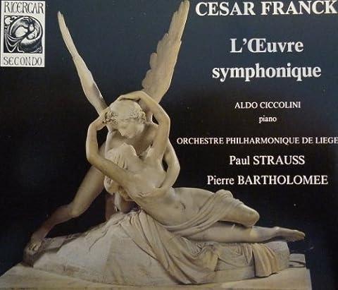 Cesar Franck Symphonie - Franck: Orchestral Works. Les Eolides, Symphonic Variations,
