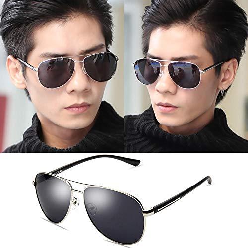 RNG Sonnenbrillen Herren polarisierten Sonnenbrillen 2019 Neue Tag und Nacht Fahren mit Mode Brillen Herren Trend Augen Fahren