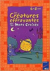 Créatures effrayantes par mots croisés