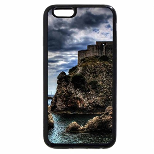 iPhone 6S / iPhone 6 Case (Black) lovrijenac fortress in dubrovnik croatia hdr