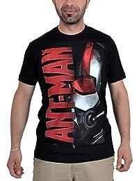 Ant-Men - T-shirt Homme-Fourmi Showdown super-héros Marvel coton sous licence noir