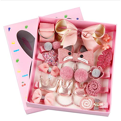 HQCM Children Hair Clips Set, 18...