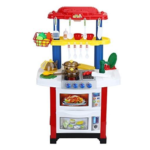 Virhuck 33pcs Giocattoli da Cucina per Bambini, con Acqua Reale ...