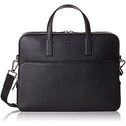 BOSS Crosstown_s Doc Case, Sacs pour ordinateur portable homme, Noir (Black), 8.5x30x38 cm (B x H T)
