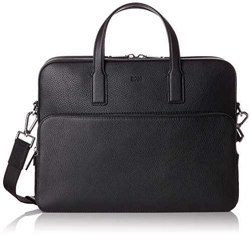 BOSS Herren Crosstown_s Doc Case Laptop Tasche, 8,5 x 30 x 38 cm, Schwarz (Black)