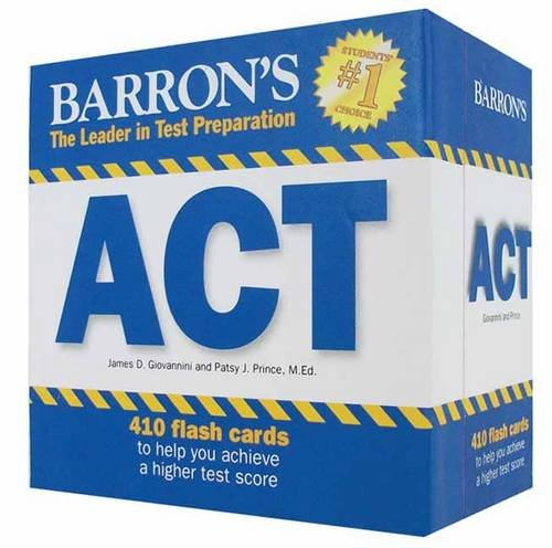 Barron's ACT Flash Cards (Leader in Test Preparation)