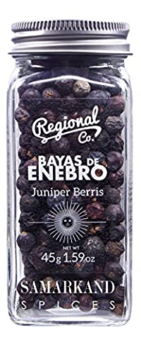 Juniper Berries for Cocktails, Especially Gin and Tonic Premium Quality 45 Grams