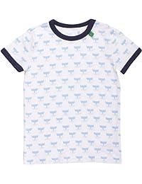 Fred'S World By Green Cotton Sailor S/Sl T Boy, T-Shirt Garçon