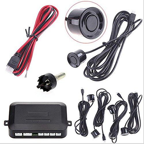 4 Sensoren - Buzzer Rückfahrwarner_Einparkhilfe Alarm Buzzer Grau