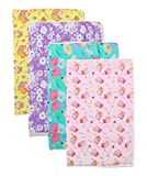 #7: First Kids Step Baby One Sided Cloth Changing Mat (Unisex, 0-6 Months, Pack of 4)