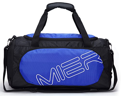 mier-gym-bag-sports-duffel-for-men-and-women-with-shoe-compartment-25l-blue