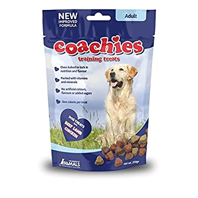 The Company of Animals COACHIES Training Treats 200g (Single Pack)