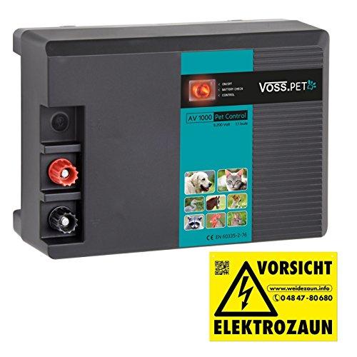 230 V Weidezaungerät 'NV 1200 Pet Control' von VOSS.PET - Elektrozaun Gerät