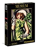 Clementoni - 39332 - Museum Collection Puzzle - Tamara De Lempicka, Ragazza in Verde - 1000 Pezzi