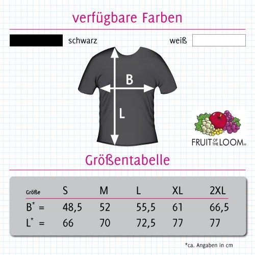 T-Shirt - Buddy Skull 11 - Totenkopf - Herren Schwarz