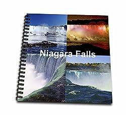 3D Rose db_21724_2 3dRose Niagara Falls Collage-Memory Book 12-inch, 12 x 12