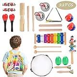 Herefun Juguetes de Instrumentos Musicales para Niños 22 en 1...